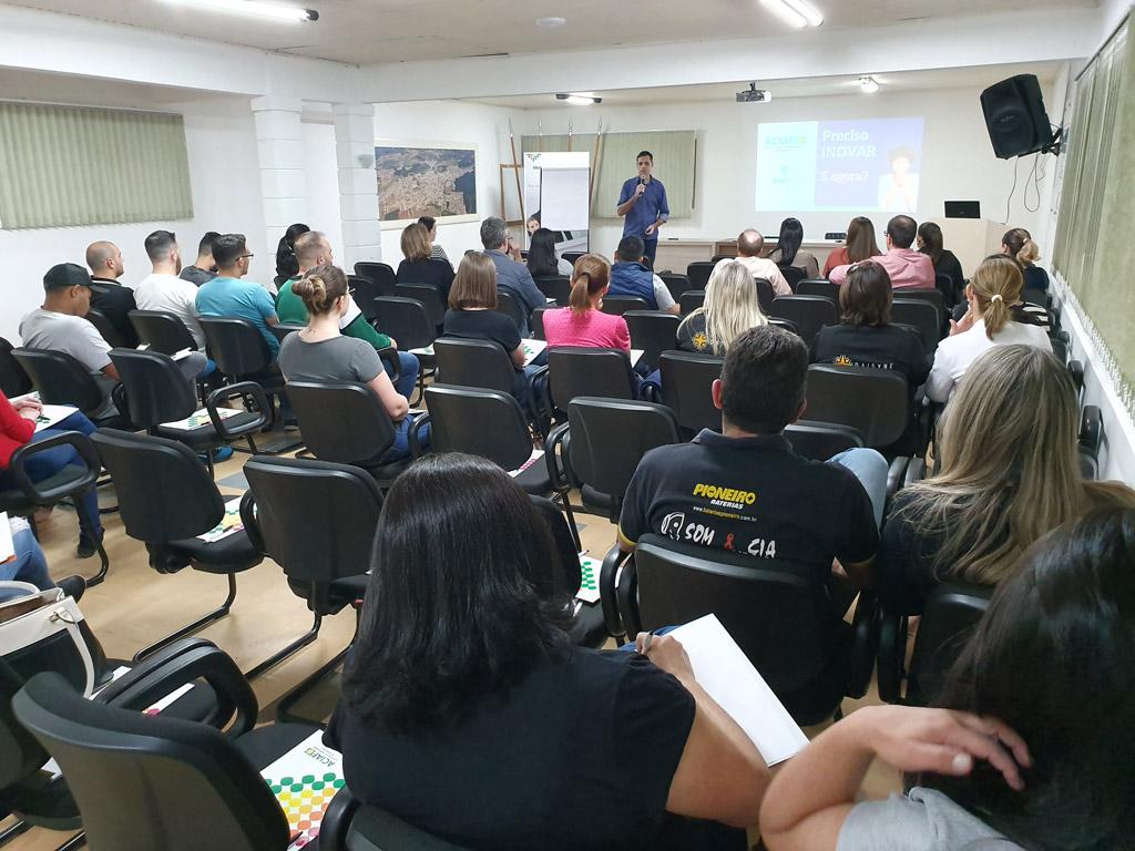Ideias de sucesso para as empresas no tema do Ciclo de Palestras da ACIAF
