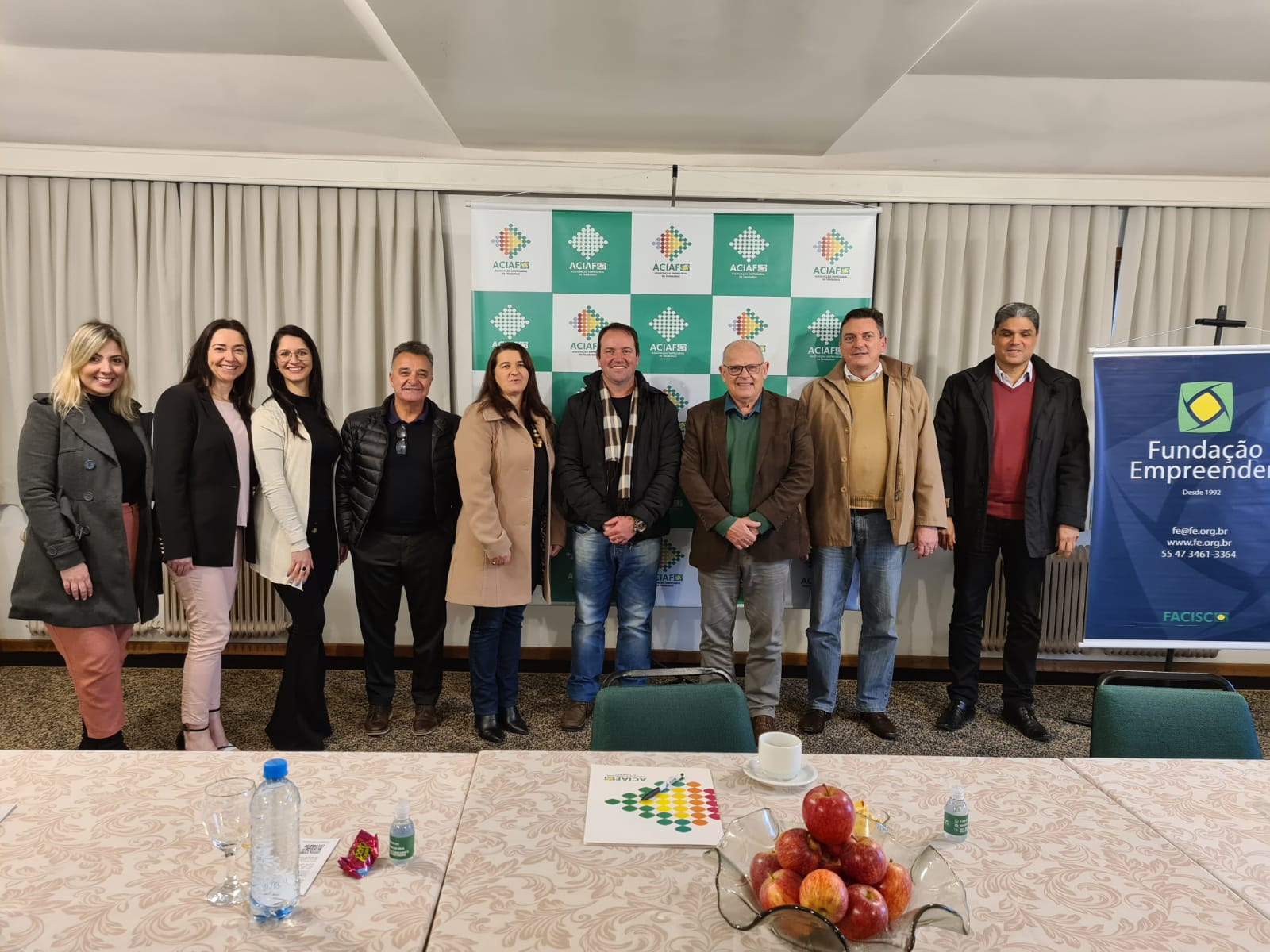 ACIAF sedia reunião da Fundação Empreender